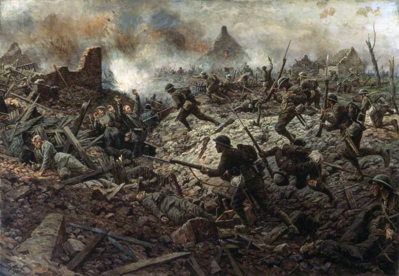 The Territorials at Pozières, 23 July 1916