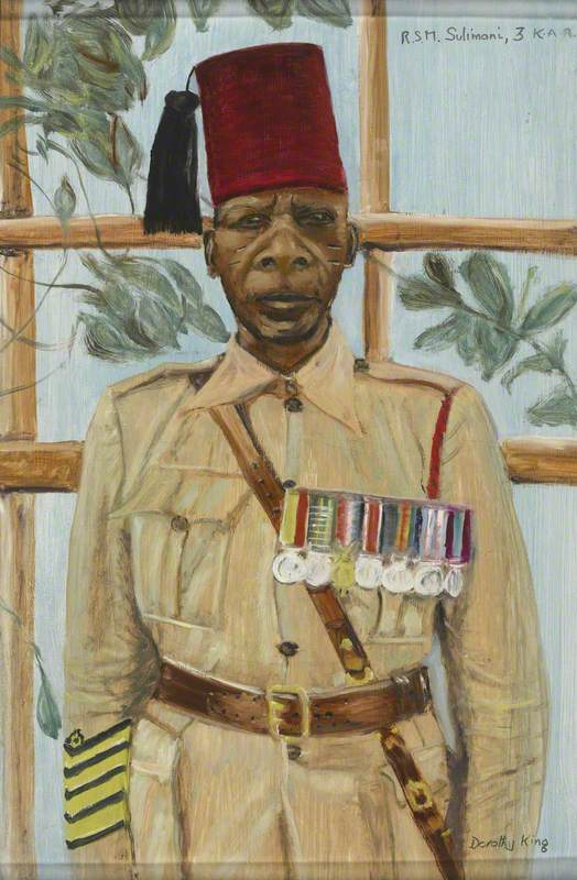 Regimental Sergeant Major Sulimani, 3rd Battalion, King's African Rifles