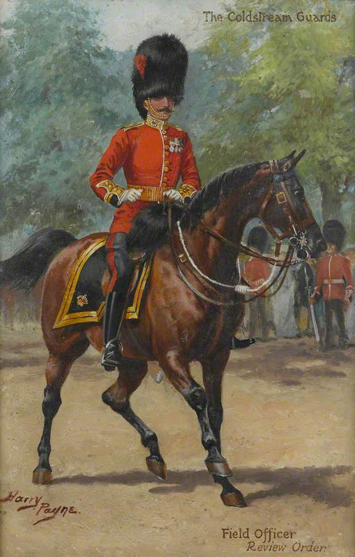 The Coldstream Guards Field Officer Review Order