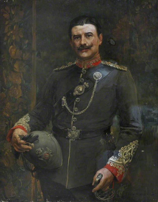 An Officer of a Volunteer Battalion, The Middlesex Regiment, c.1904