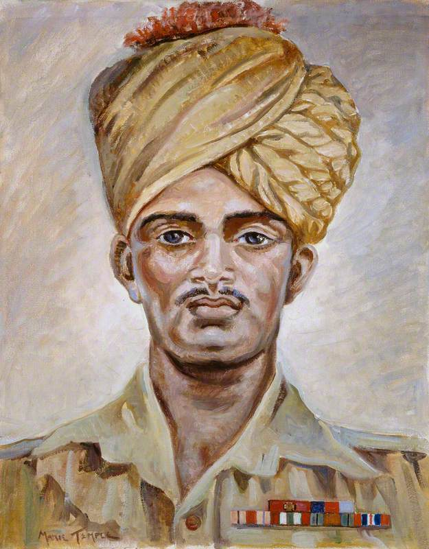 Naik Yeshwant Ghadge (1921–1944), VC, 3rd Battalion 5th Mahratta Light Infantry, c.1944
