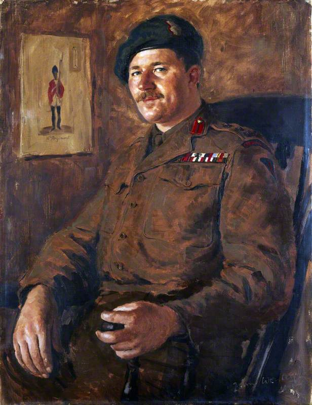Brigadier Peter Young, DSO, MC, No. 3 Commando