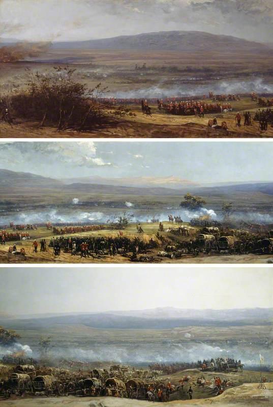 The Battle of Ulundi, Zulu War, 4 July 1879