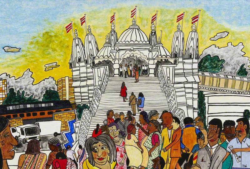 Virtual Reality: Neasden Temple