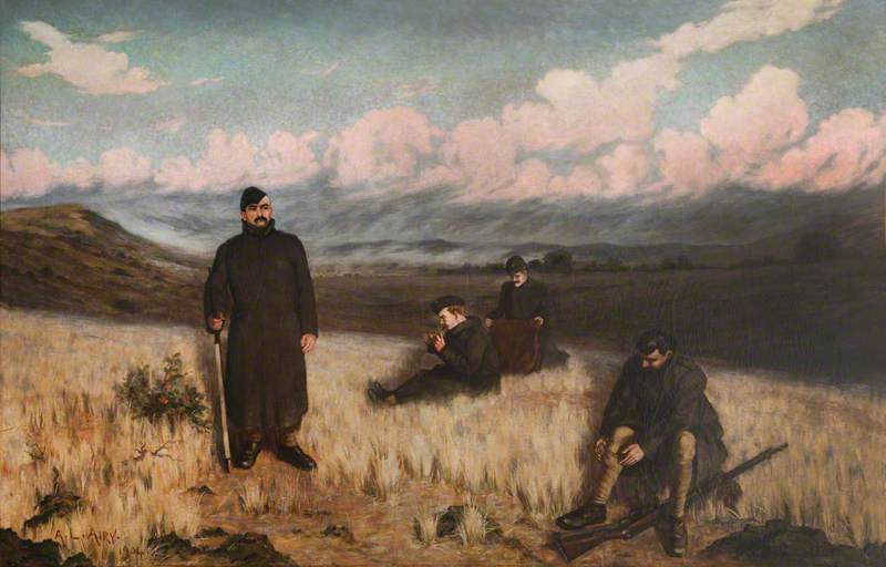 Soldiers in the Fields in South Africa