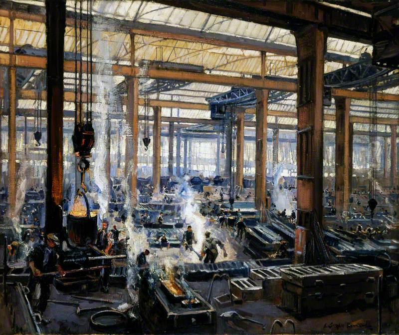 Industrial Workshop (A Steel Works)