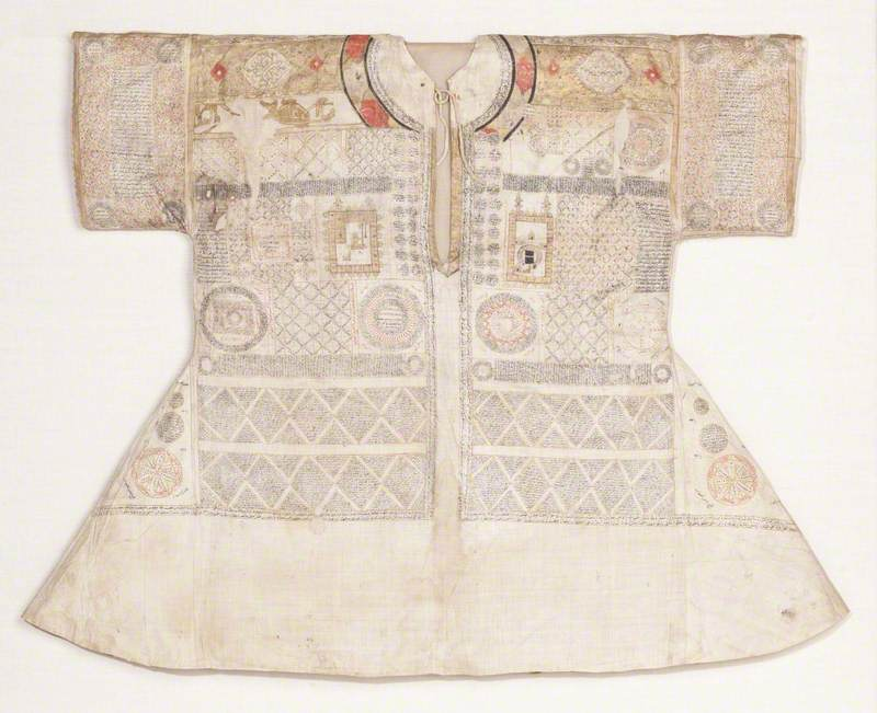 Talismanic Shirt with Depictions of the Two Holy Sanctuaries
