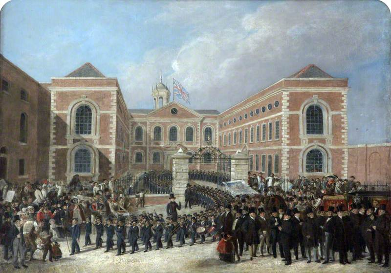 Recollections of Liverpool Blue Coat Hospital, St George's Day