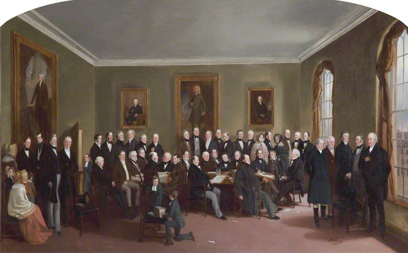 The Boardroom of the Liverpool Blue Coat Hospital