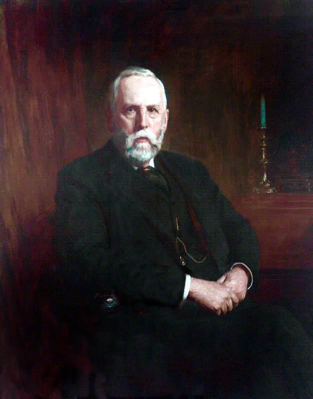 John Ernest Tinne, Esq., Trustee (1882), Treasurer of the Liverpool Blue Coat School (1885–1925)