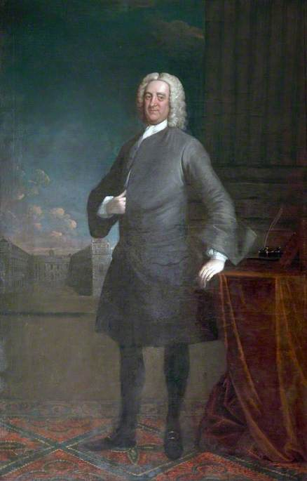 Bryan Blundell, Esq. (1714–1758), Trustee, Founder of the Liverpool Blue Coat School in Conjunction with the Reverend R. Stythe, Rector