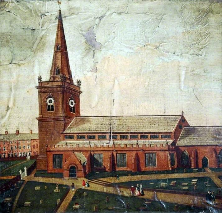 St Mary's Church, Prescot, Lancashire