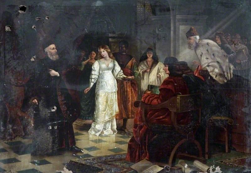 Desdemona Professes Her Love