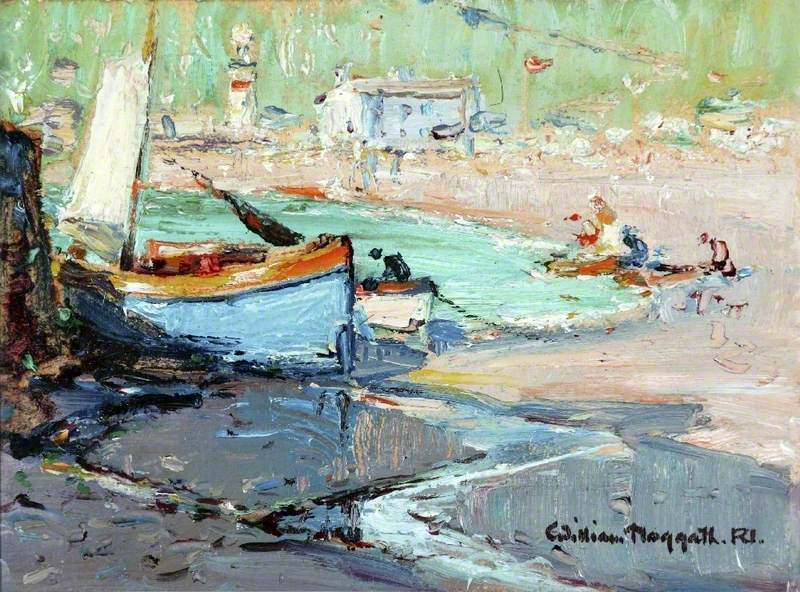 Small Harbour with Boats