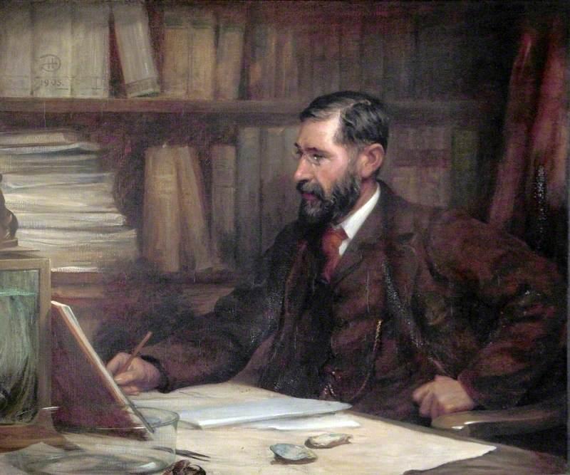 Professor Sir William Abbot Herdman (1859–1924), DSc, LLD, FRS, FLS, Chair of Natural History, University of Liverpool (1881–1919)