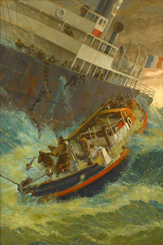 An Epic of the Mersey: 'Emile Delmar', 1928