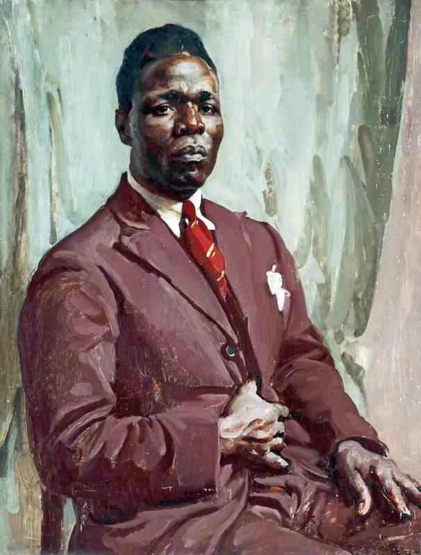 Half-Length Portrait of a Black Man