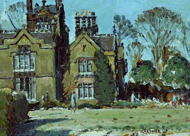 Arrowe Hall, Wirral, Winter