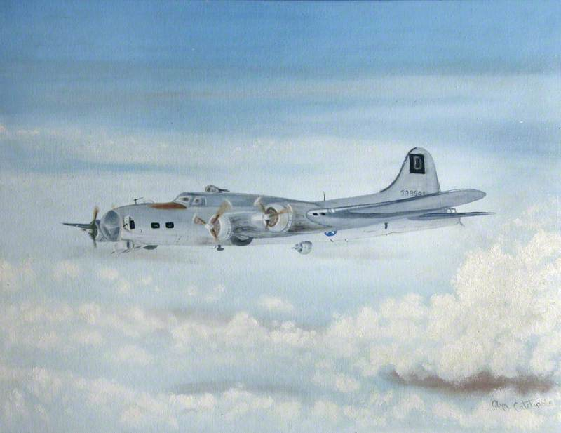 B17 Flying Fortress 398945
