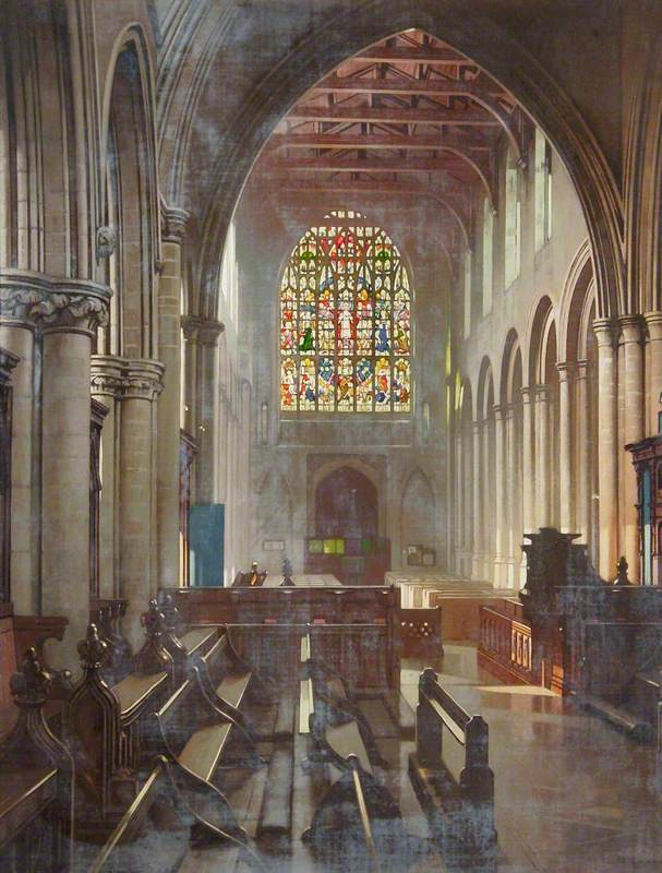 Interior of St Margaret's Church