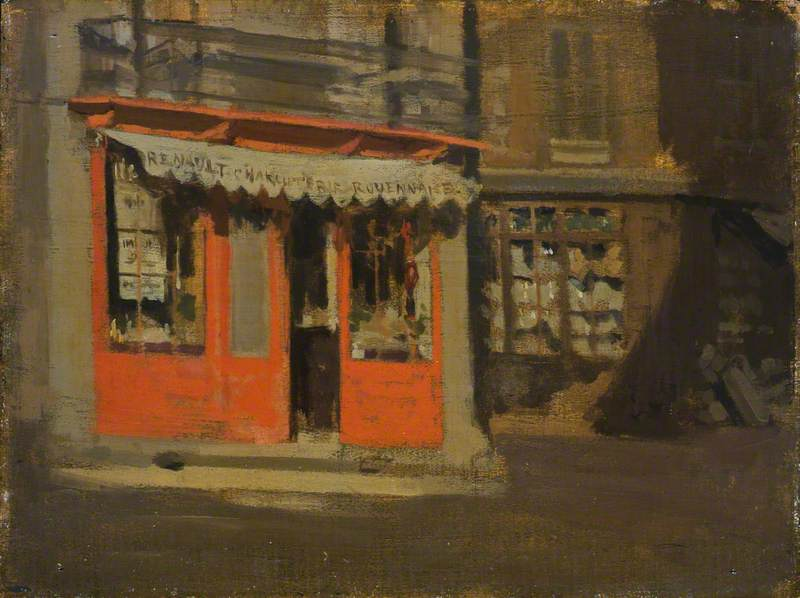 The Red Shop (The October Sun)