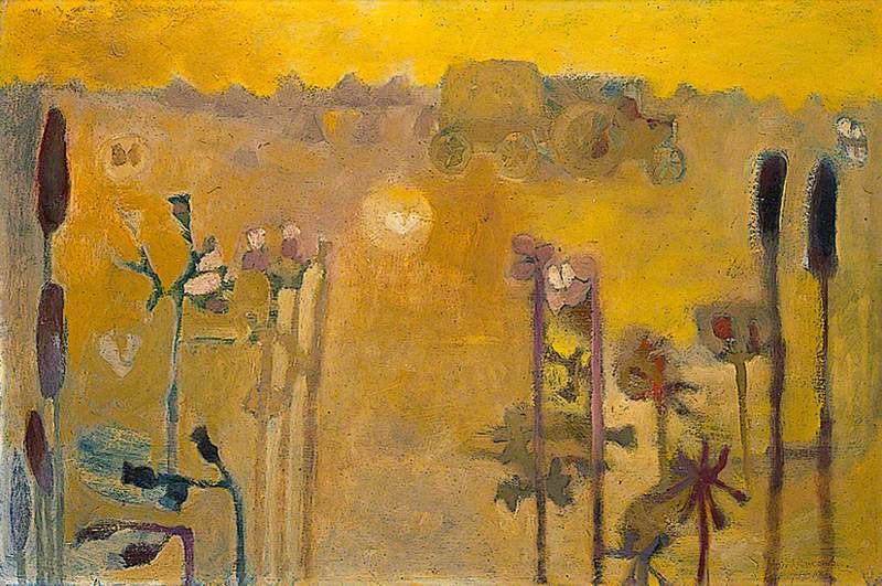 Moths and Men with Hay, August