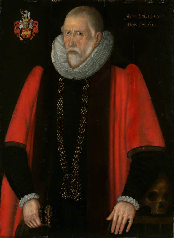 Sir John Pettus (1549/1550–1614), Mayor of Norwich (1608)