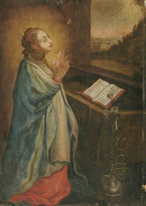 The Virgin Annunciate