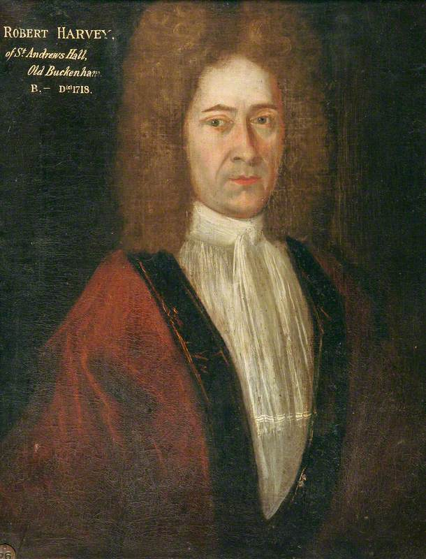 Robert Harvey of St Andrew's Hall, Old Buckenham (d.1718)