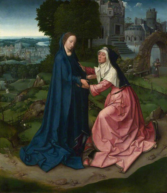 The Visitation of the Virgin to Saint Elizabeth