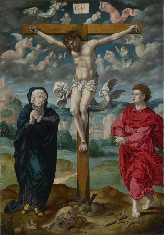 The Crucifixion: Central Panel