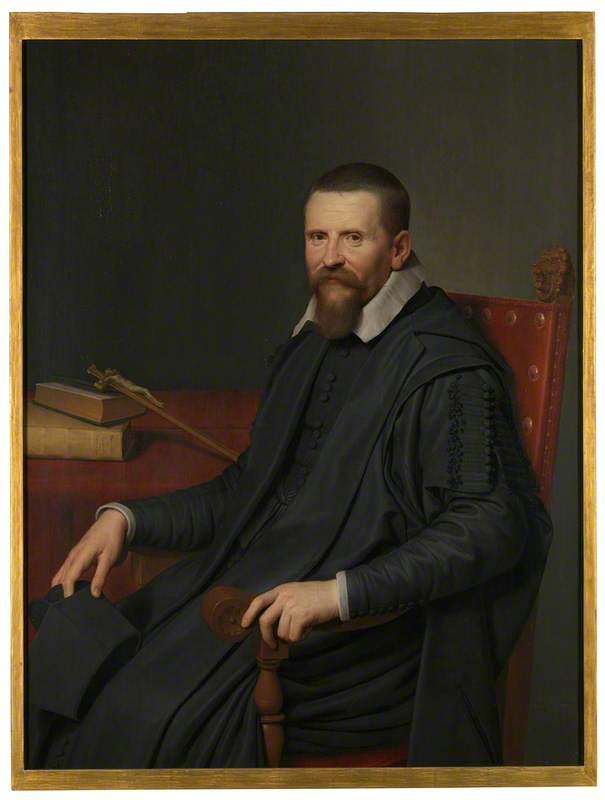 Portrait of Suitbertus Purmerent
