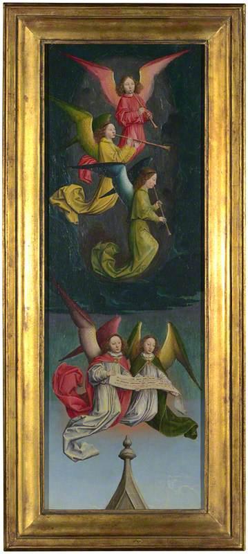 A Choir of Angels: From Left Hand Shutter