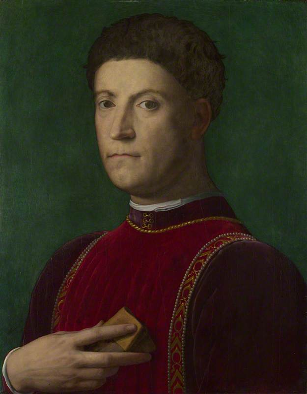 Portrait of Piero de' Medici ('The Gouty')
