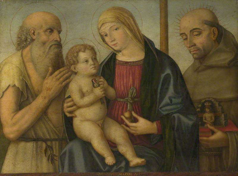 The Virgin and Child with Saint Jerome and the Blessed Bernardino da Feltre