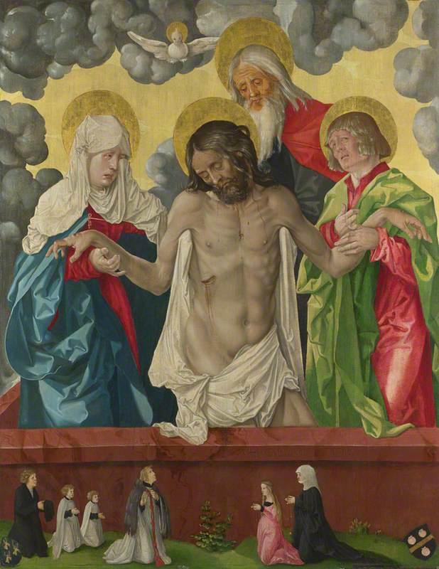 The Trinity and Mystic Pietà