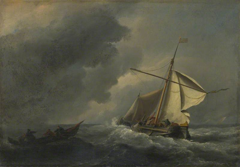 A Dutch Vessel in a Strong Breeze