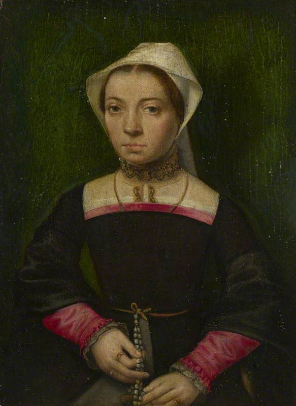 A Lady with a Rosary