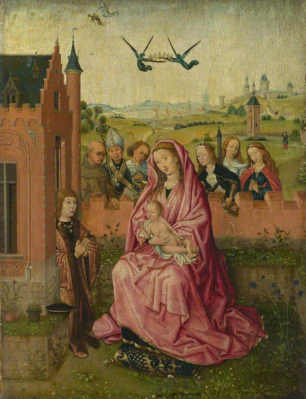 The Virgin and Child with Saints and Donor