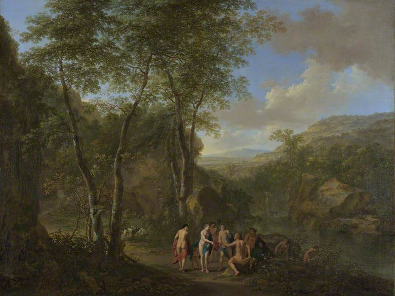 A Landscape with the Judgement of Paris