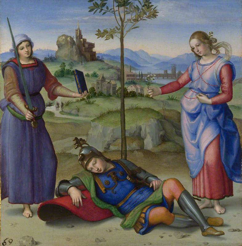 An Allegory ('Vision of a Knight')