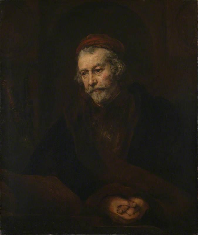 An Elderly Man as Saint Paul