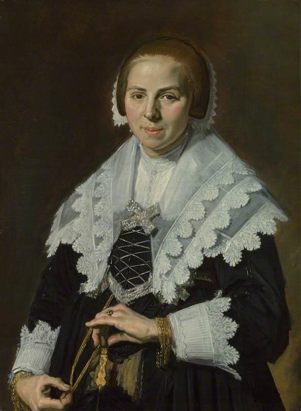 Portrait of a Woman with a Fan