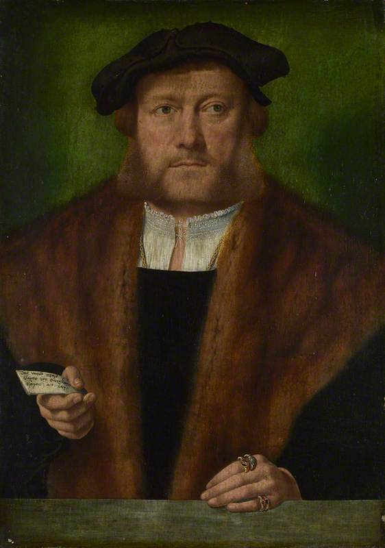 A Man, probably of the Strauss Family