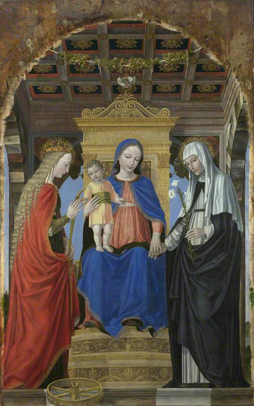The Virgin and Child with Saint Catherine of Alexandria and Saint Catherine of Siena