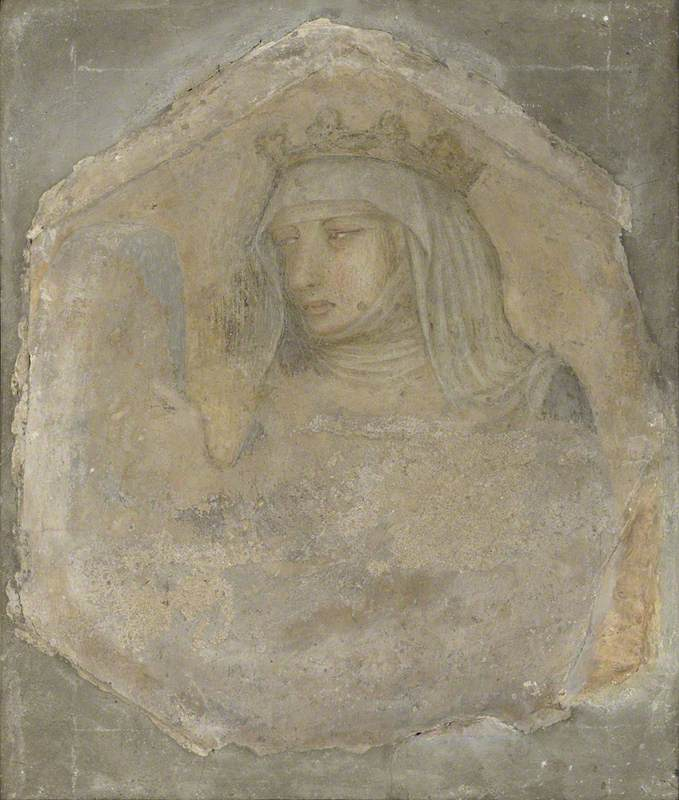 A Crowned Female Figure (Saint Elizabeth of Hungary?)