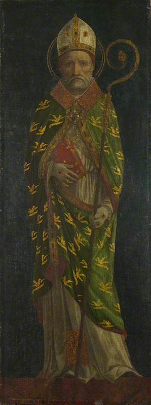Saint Ambrose (?)