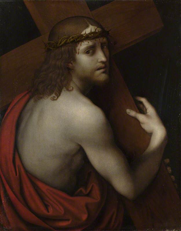 Christ carrying his Cross