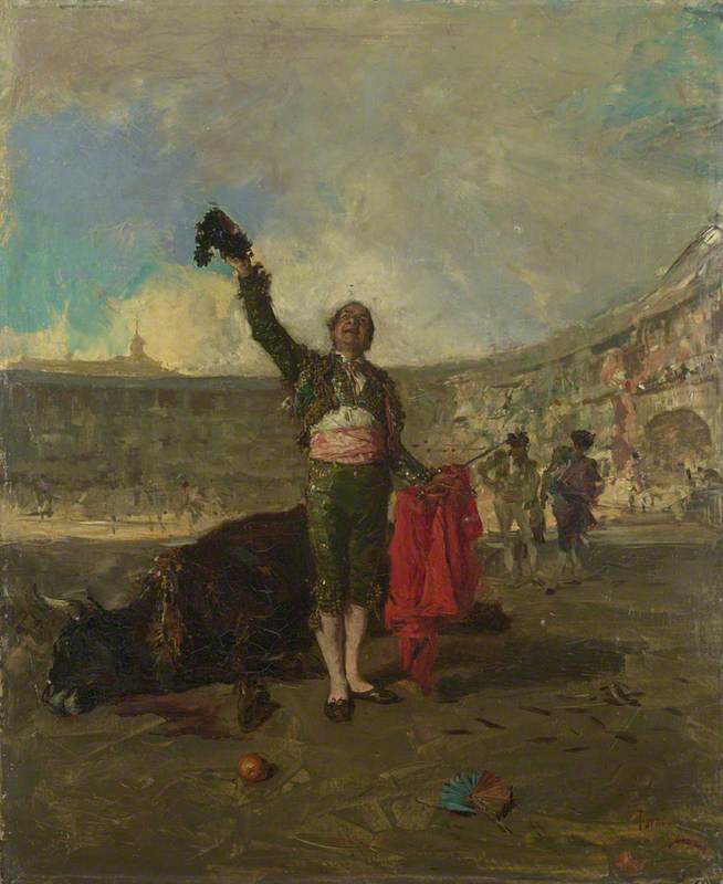 The Bull-Fighter's Salute