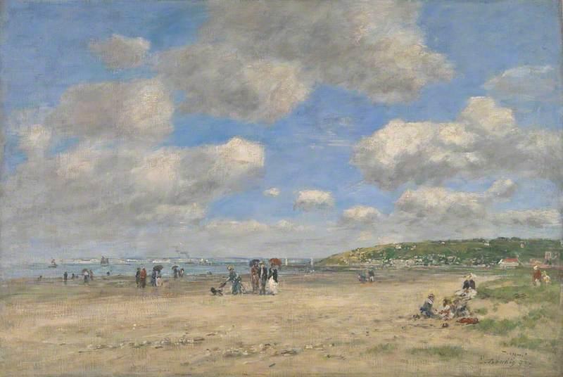 The Beach at Tourgéville-les-Sablons